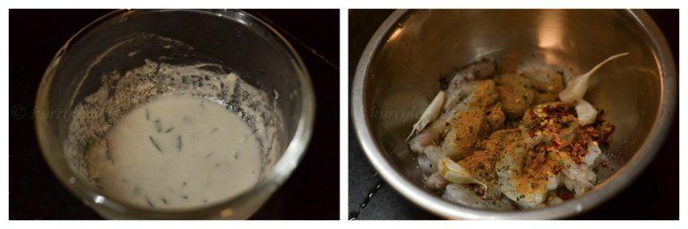 Kerala-prawn-roast-prep