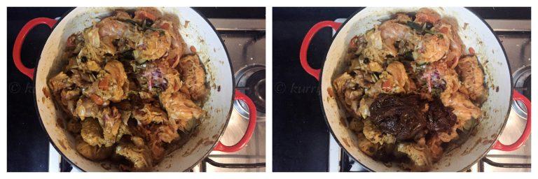 Sautéing chicken
