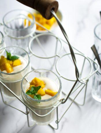 easy mango mousse