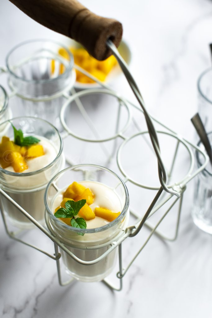 Mango mousse recipe