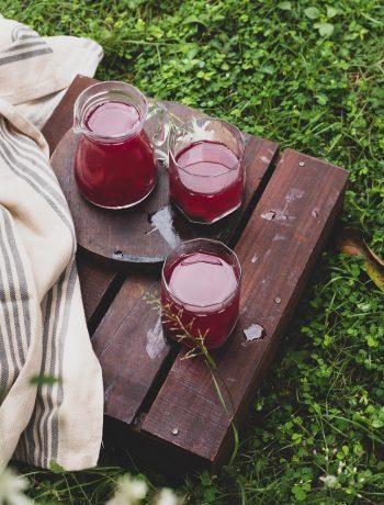 Grape juice with pulp