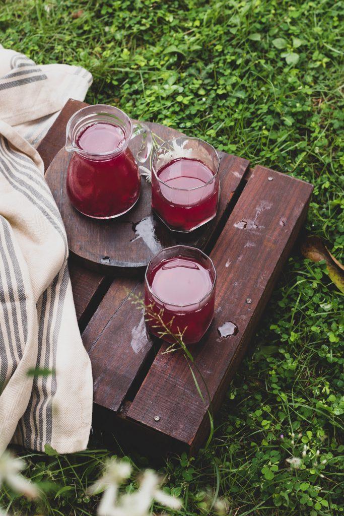Arabian grape juice with pulp