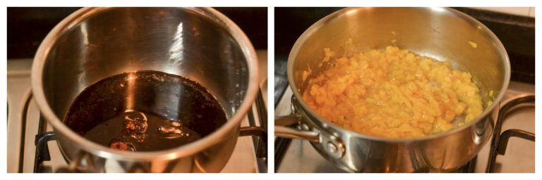 cooking jackfruit and jaggery