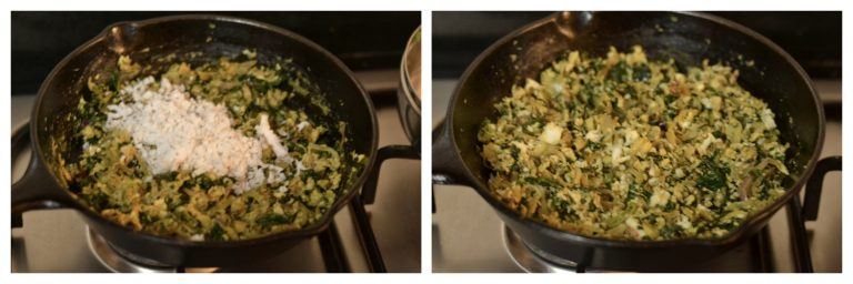 moringa egg stir fry