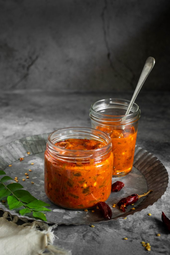 Irumban puli achar recipe